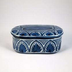 Caja Oval Azul