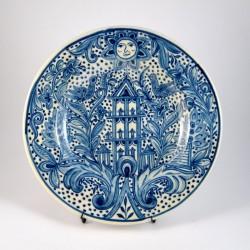 Plato Popular Azul