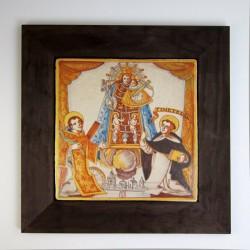 Azulejo Virgen Desamparados
