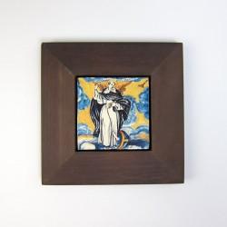 Azulejo San Vicent con marco