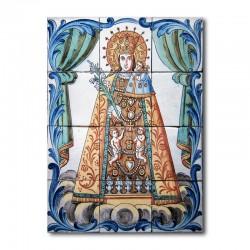 Panel Virgen Desamparados...