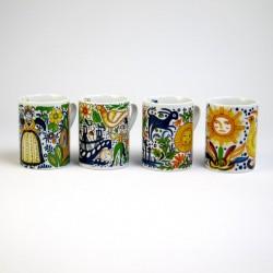 Set 4 Tazas Mug