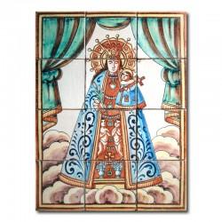 Virgen Desamparados sin marco