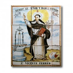 San Vicente Ferrer sin marco