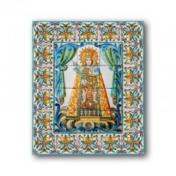 Virgen Desamparados con Cenefa