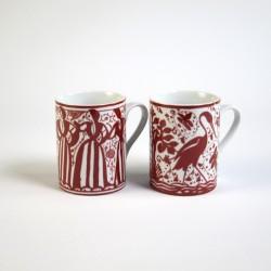 Set 2 Tazas Mug Medieval