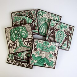 Gótico Verde 20x20