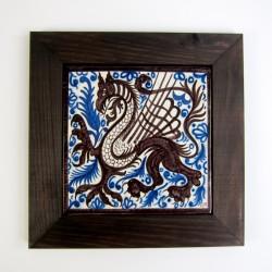 Dragón 20x20 cm con marco